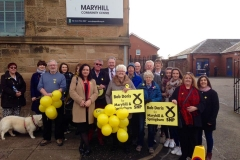 Nicola Sturgeon visits Maryhill and Springburn